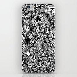 Conquer (Black & White Version)  iPhone Skin