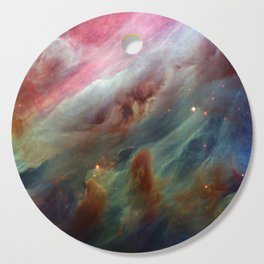 The Orion Gas Clouds Cutting Board