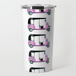Pink tuktuk, fun design Travel Mug