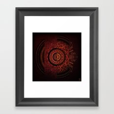 Composition Shields 2 Framed Art Print