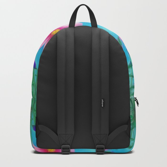 Blooming reflection Backpack