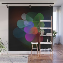 Bloom | Abstract Rose Wall Mural