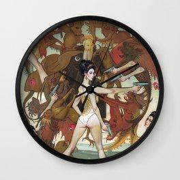 Straight Shooter Wall Clock