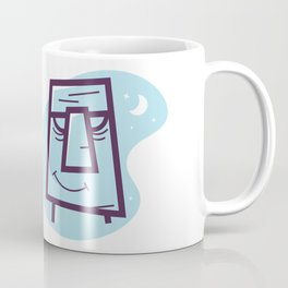 Moai - Easter Island New Retro Coffee Mug