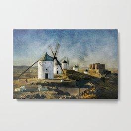 Windmills of Castilla la Mancha Metal Print
