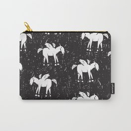Pegasus Block Print Carry-All Pouch