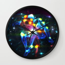 Astronomical Love Wall Clock