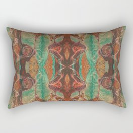 Ecstatic Pelvis (Meat Flame) (Reflected) Rectangular Pillow