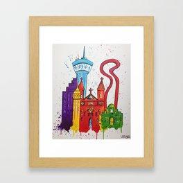 Alamo City Framed Art Print