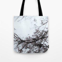 Enter Here (Blue/Purple Version) Tote Bag