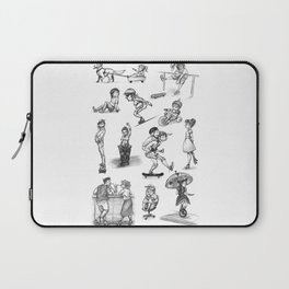 things with wheels Laptop Sleeve