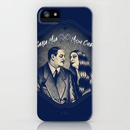 Gomez & Morticia Addams iPhone Case
