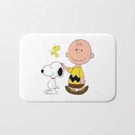 Charlie Brown & Friends Bath Mat