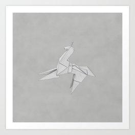 Origami - Blade Runner Art Print
