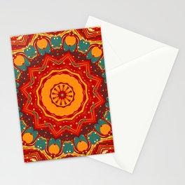 Festive Mandala Stationery Cards