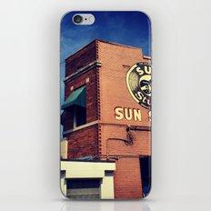 Sun Studio Records iPhone & iPod Skin