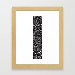 Mandala Vertical Art  Framed Art Print