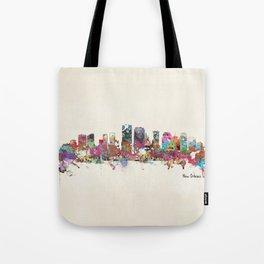 New Orleans Louisiana skyline Tote Bag