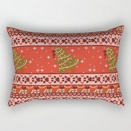 A Cat-astrophe Rectangular Pillow