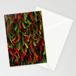 Hot chili peppers Stationery Cards