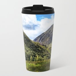 A walk in the Scottish Highlands, Glencoe. Travel Mug