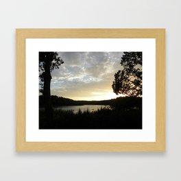 Denmark's Setting Sun  Framed Art Print