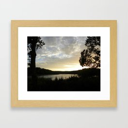 Denmark's Setting Sun  Framed Art Print