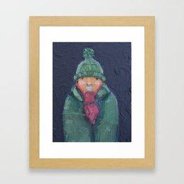 C-c-c-cold Framed Art Print