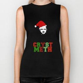 Merry Crystmeth! Biker Tank