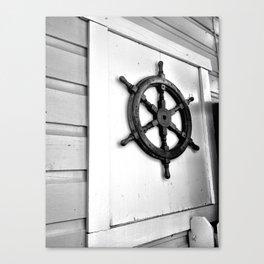 Ships Wheel Canvas Print