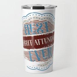 Best Flight Attendant Travel Mug