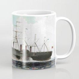 Vintage SS Great Eastern Steamboat Painting (1858) Coffee Mug
