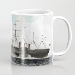 Vintage SS Great Eastern Steamboat Painting (1858) Coffee Mug