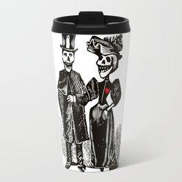 Calavera Couple Travel Mug
