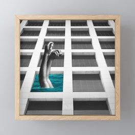 Summer, A Retrospective Framed Mini Art Print