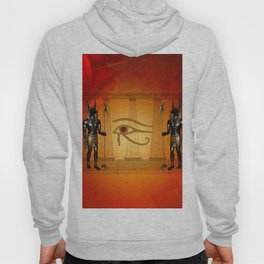 The all seeing eye with anubis Hoody