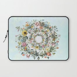 Circle of Life in  Blue Laptop Sleeve