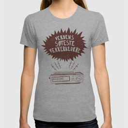 Verdens søteste vekkerklokke T-shirt