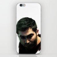 derek hale iPhone & iPod Skins featuring Derek by @cuisle