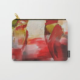 Red Ballet Slippers Carry-All Pouch