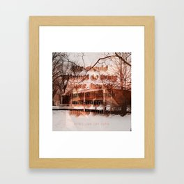 Mies van der rohe Framed Art Print
