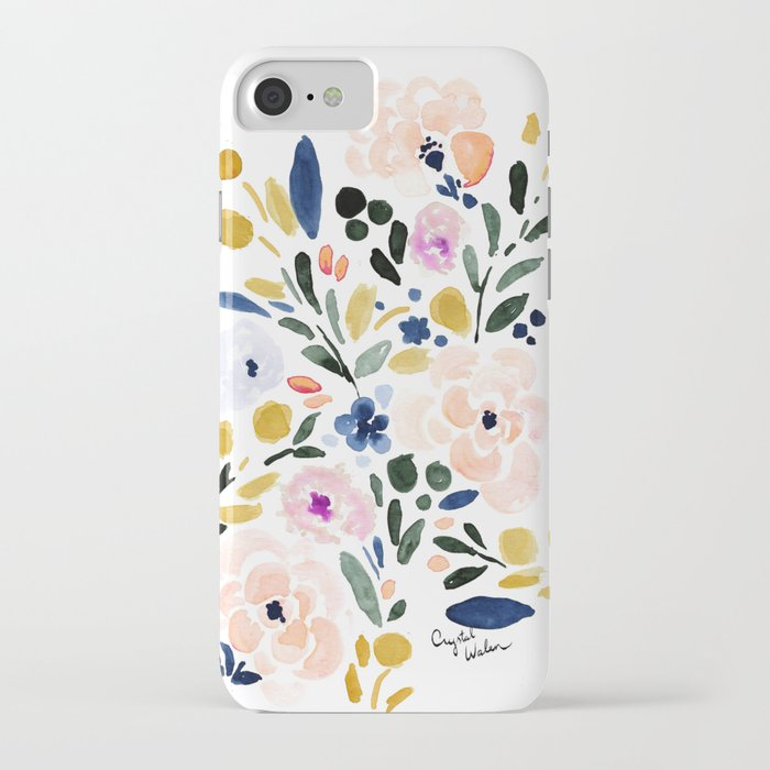 Sierra Floral iPhone Case