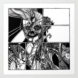Sokushinbutsu Art Print