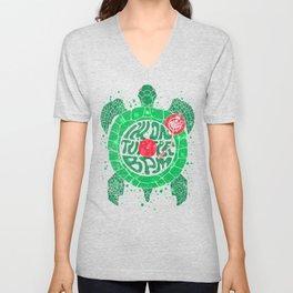 Turtle BPM Unisex V-Neck