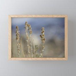 Dancing Flowers Framed Mini Art Print