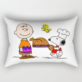 Snoopy Make Cook Rectangular Pillow