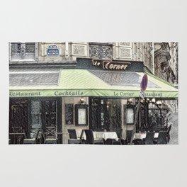Paris - Restaurant Rug