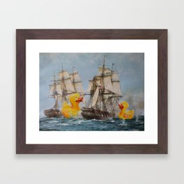 Terror on the High Seas III Framed Art Print