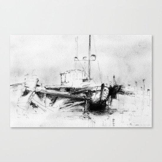 Pirates of the Baltic-sea Canvas Print
