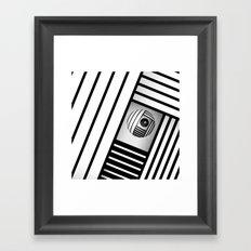Hetero curious Framed Art Print
